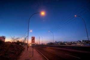 安阳市民反映路灯不亮半年有余   盼望恢复光明圆面丝印机